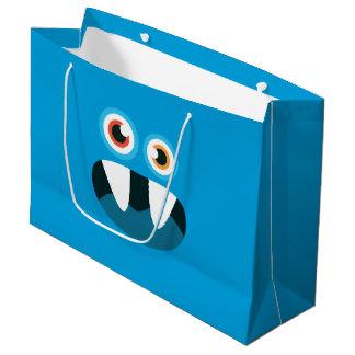 Blue Monster Large Gift Bag