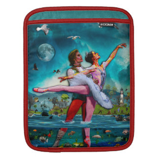 Blue Moon Ballet A Complete Fiction iPad Sleeve