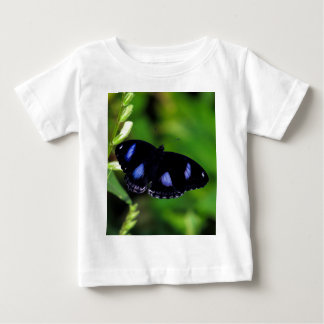 Blue Moon Butterfly Great Eggfly in Thailand Baby T-Shirt