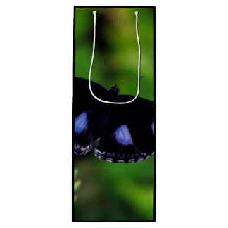 Blue Moon Butterfly Great Eggfly Wine Gift Bag