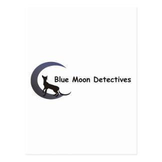 Blue Moon Detectives Postcard