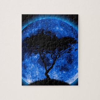Blue Moon Jigsaw Puzzle