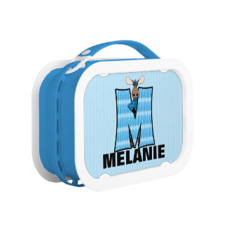 """Blue Moose Monogrammed """"M"""" Camouflage Lunchboxes"""