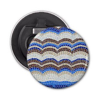 Blue Mosaic Bottle Opener