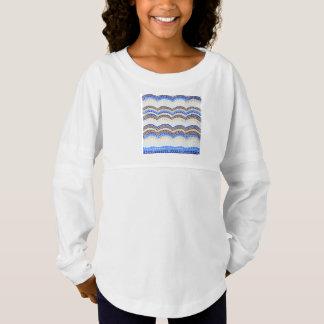 Blue Mosaic Girls' Spirit Jersey T-Shirt