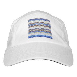 Blue Mosaic Knit Performance Hat