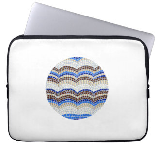 Blue Mosaic Laptop Sleeve 13''