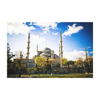 Blue Mosque Gallery Wrapped Canvas
