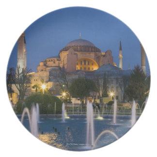 Blue mosque, Istanbul, Turkey Dinner Plate