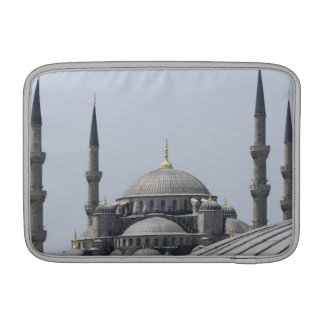 Blue Mosque with the curve of the main dome MacBook Sleeve