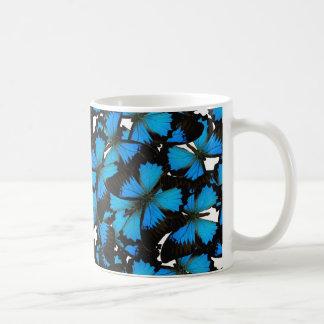 Blue Mountain Swallowtail Classic White Coffee Mug