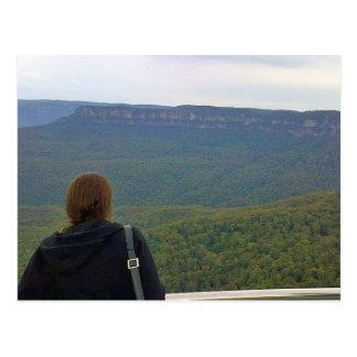 Blue Mountains Australia Postcard