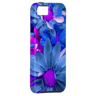 Blue N Purple Daisies iPhone 5 case