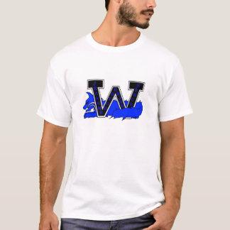 Blue Nation White T-Shirt