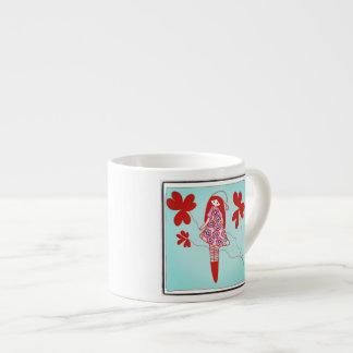 Blue Noel 6 Oz Ceramic Espresso Cup