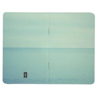Blue Notebook moleskine style office school Journal