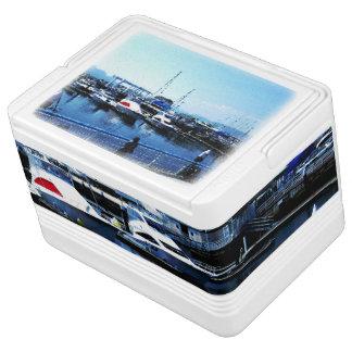 Blue ocean photo cooler box Part 1 Chilly Bin