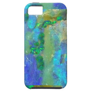 Blue Opal October Birthstone by Sharles iPhone 5 Case