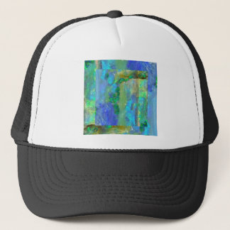 Blue Opal October Birthstone by Sharles Trucker Hat