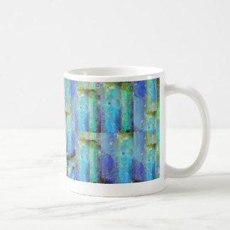 Blue Opals Gemstone October Mug by Sharles