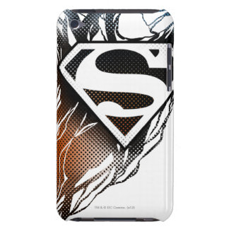Blue-Orange Superman Logo Barely There iPod Covers