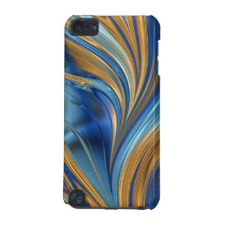 Blue orange swirls iPod touch (5th generation) cover