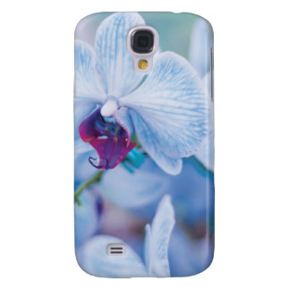 Blue Orchid Galaxy S4 Case
