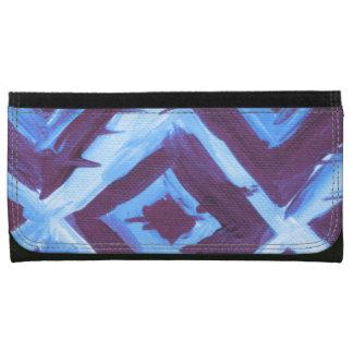 Blue organic iKat Wallet