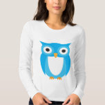 Blue Owl - Add Your Own Text Tees
