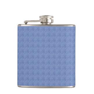 Blue Pattern Flask