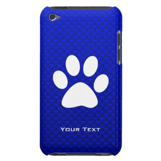 Blue Paw Print iPod Touch Case-Mate Case