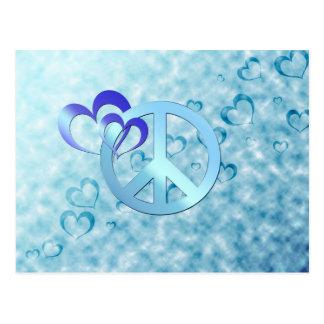 Blue Peace Postcard
