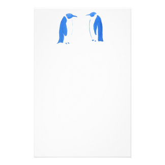 Blue Penguin Duo Stationery