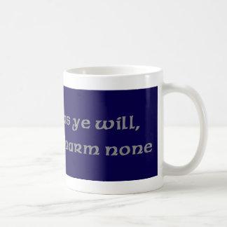 Blue Pentacle Mug