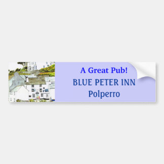 'Blue Peter Inn' Bumper Sticker Car Bumper Sticker