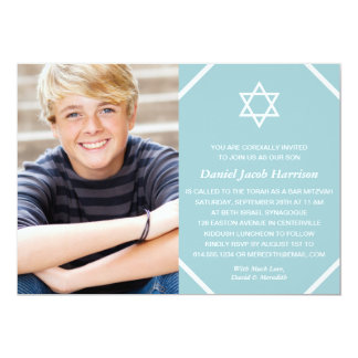 Browse Zazzle Bar Mitzvah invitations and customise with your own text, photos or designs.