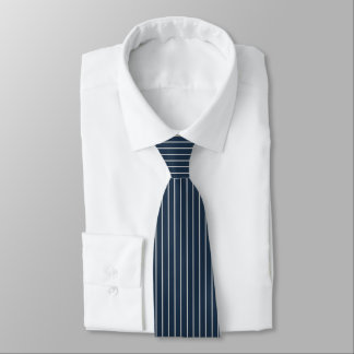 Blue Pinstripe Tie