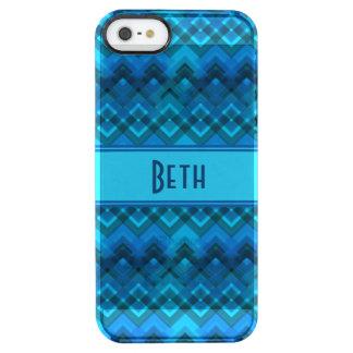 Blue Plaid Weave Customisable