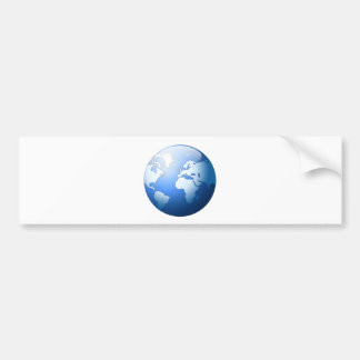 """Blue Planet"" Bumper Sticker"