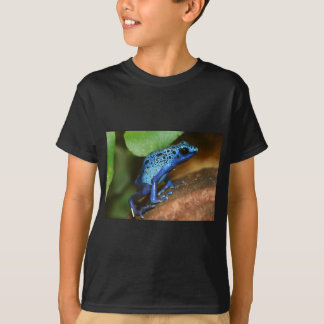 blue poison arrow frog t-shirts