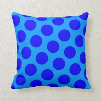 Blue Polka Dots Cushions