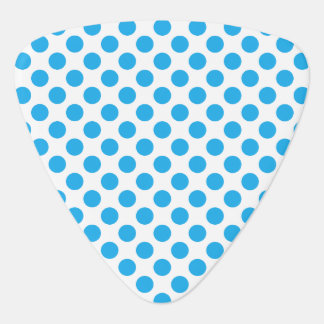 Blue Polka Dots Guitar Pick