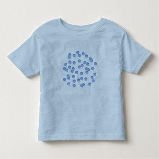 Blue Polka Dots Toddler T-shirt