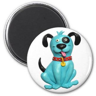 Blue Pooch Magnets