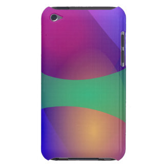 Blue Purple Green iPod Touch Cases