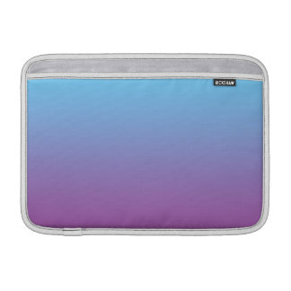 Blue & Purple Ombre MacBook Air Sleeves