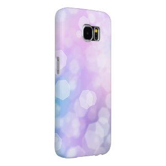 BLUE & PURPLE SPARKLES - Samsung Galaxy Case