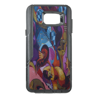 Blue red purple abstract graffiti OtterBox samsung note 5 case