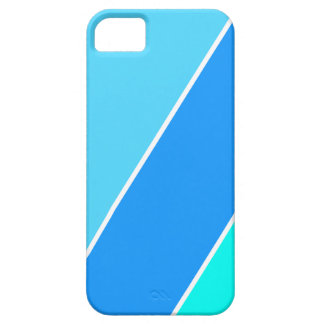 Blue Regal iPhone Case Barely There iPhone 5 Case