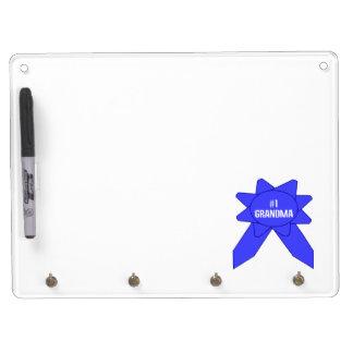 Blue Ribbon #1 Grandma Dry Erase Board With Key Ring Holder